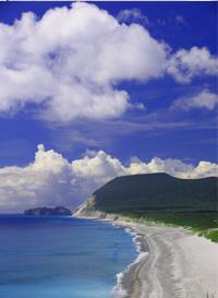 新島:羽伏浦海岸