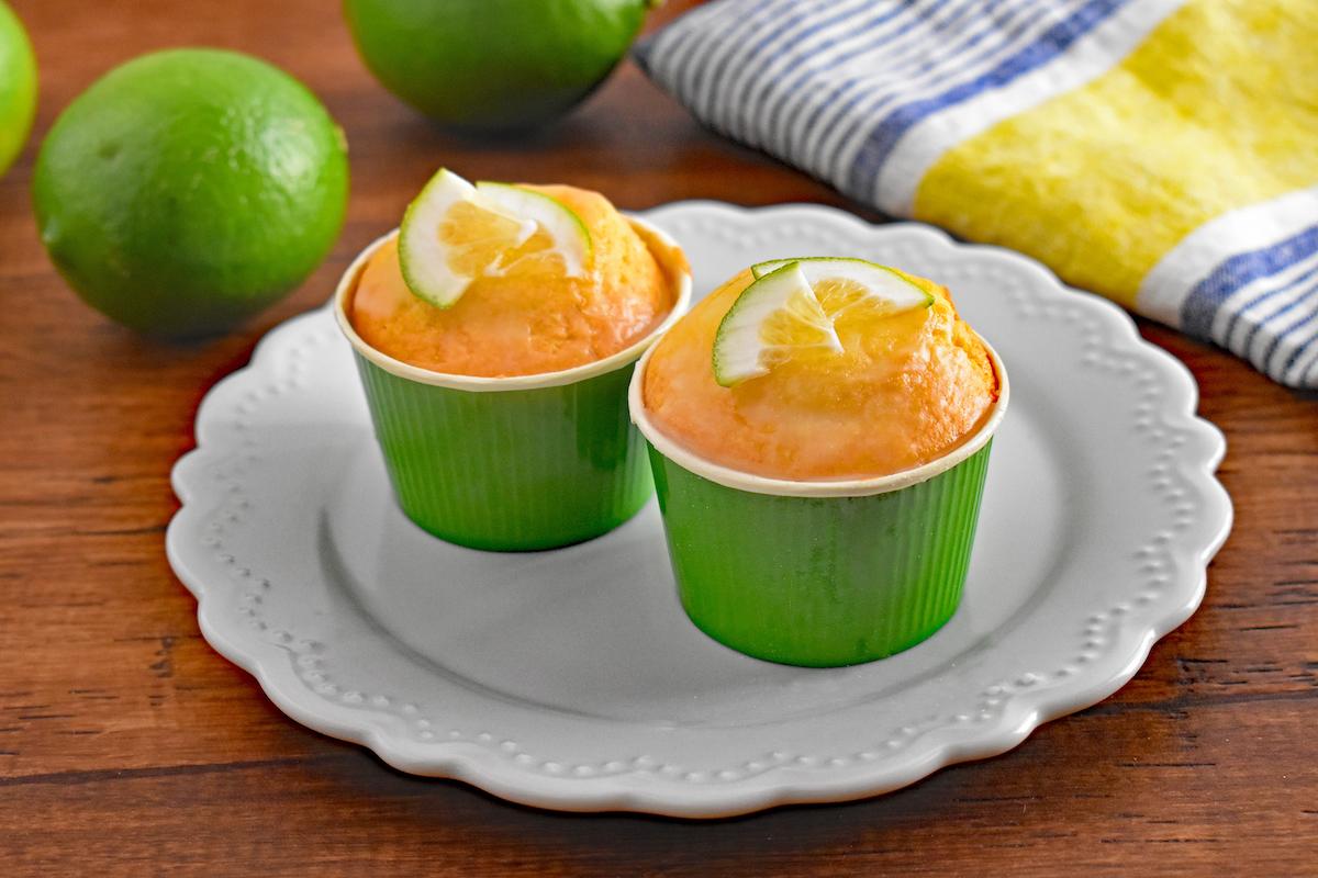 小笠原島レモンのカップケーキ