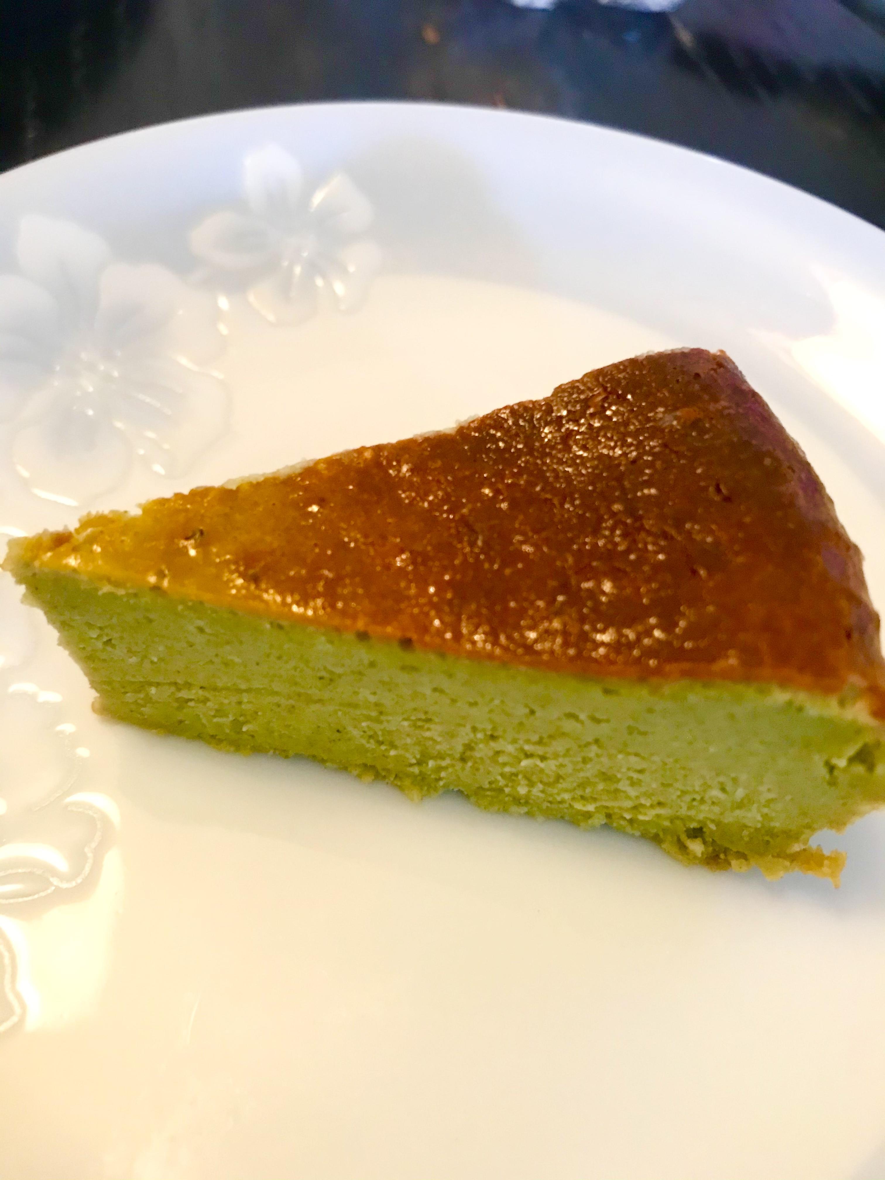 簡単♪明日葉チーズケーキ