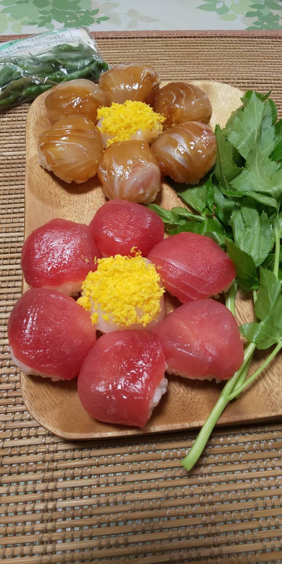 花手まり寿司