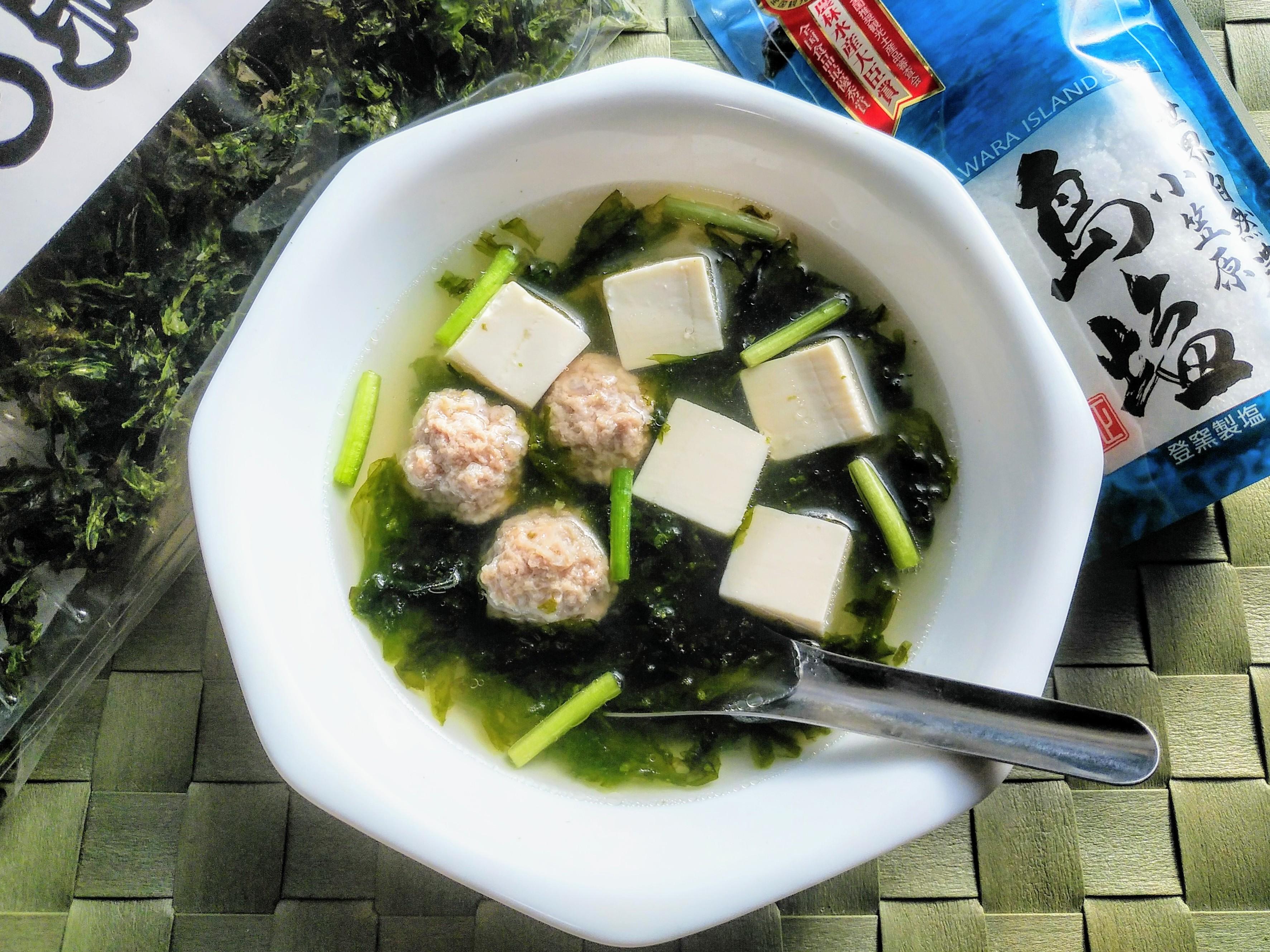 タイ風・島のりスープ