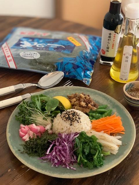 島野菜ビビンバ
