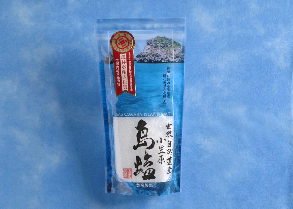 【島土産紹介】東京諸島の恵み「自然海塩」